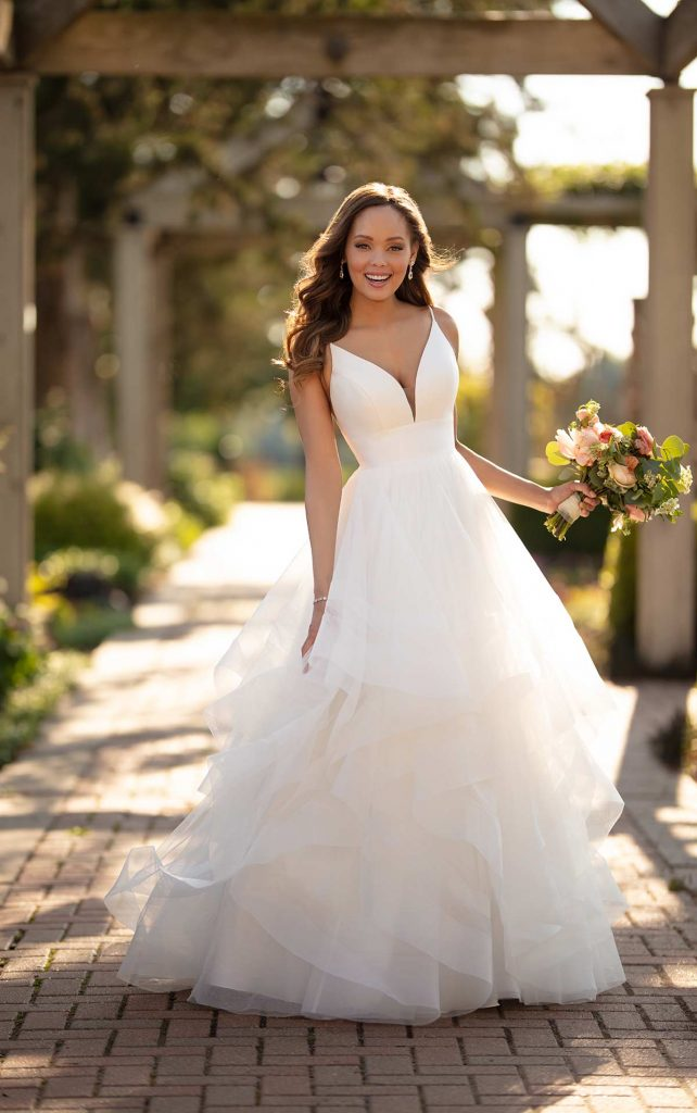 A Line Vs Ballgown Wedding Dresses Which Is Best For You Maeme Bridal